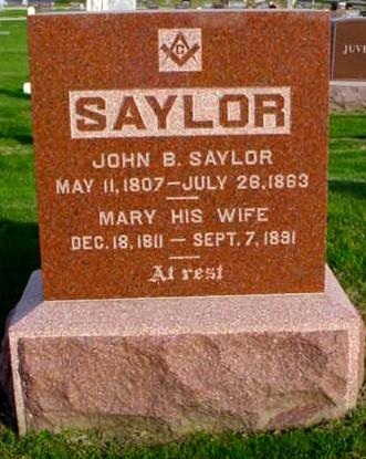 SAYLOR, JOHN B. - Polk County, Iowa | JOHN B. SAYLOR