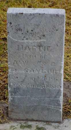 SAYLOR, MATTIE - Polk County, Iowa | MATTIE SAYLOR