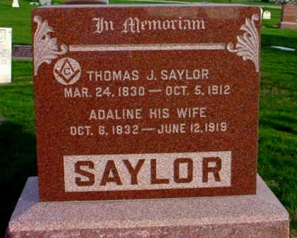 SAYLOR, THOMAS JEFFERSON - Polk County, Iowa | THOMAS JEFFERSON SAYLOR