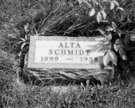 SCHMIDT, ALTA MAY - Polk County, Iowa | ALTA MAY SCHMIDT
