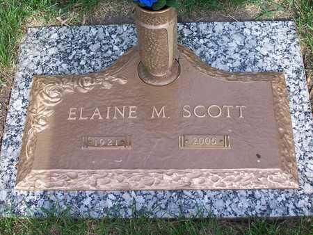 SCOTT, ELAINE - Polk County, Iowa   ELAINE SCOTT