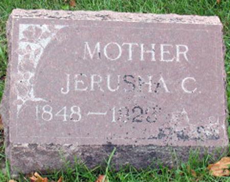 SEIBERLING, JERUSHA C. - Polk County, Iowa   JERUSHA C. SEIBERLING