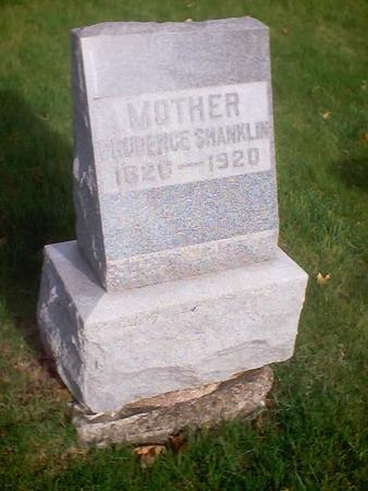SHANKLIN, PRUDENCE - Polk County, Iowa | PRUDENCE SHANKLIN