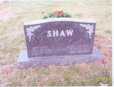 WARREN SHAW, MARYDELL - Polk County, Iowa | MARYDELL WARREN SHAW