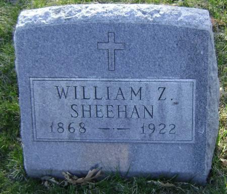 SHEEHAN, WILLIAM Z - Polk County, Iowa | WILLIAM Z SHEEHAN