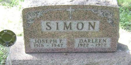 SIMON, JOSEPH F - Polk County, Iowa | JOSEPH F SIMON