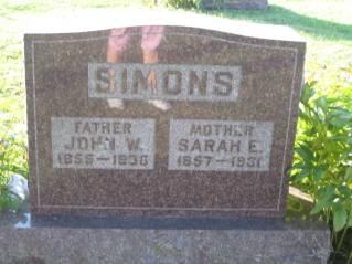 SIMONS, JOHN - Polk County, Iowa | JOHN SIMONS