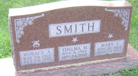 SMITH, MARY I - Polk County, Iowa | MARY I SMITH