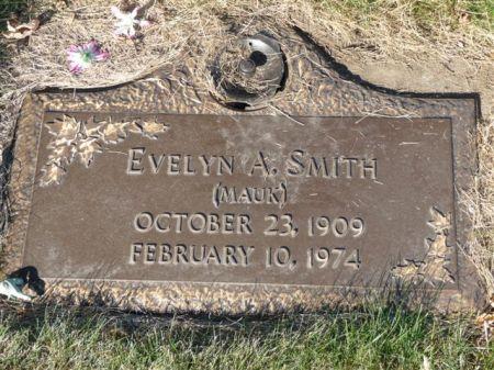 HAMPTON SMITH MAUK, EVELYN - Polk County, Iowa   EVELYN HAMPTON SMITH MAUK