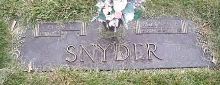 SNYDER, MILDRED E. - Polk County, Iowa   MILDRED E. SNYDER