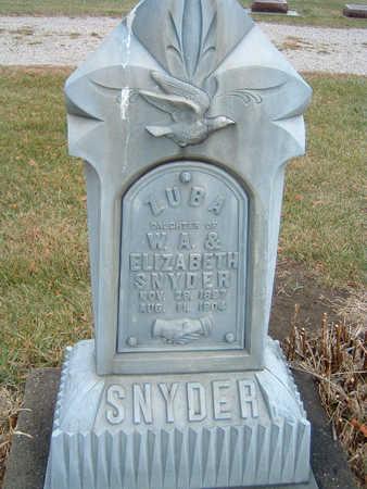 SNYDER, ZUBA - Polk County, Iowa | ZUBA SNYDER