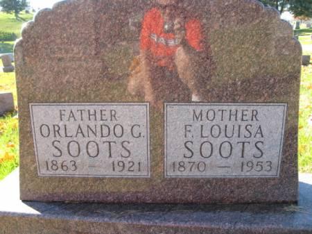 SOOTS, F. LOUISA - Polk County, Iowa | F. LOUISA SOOTS