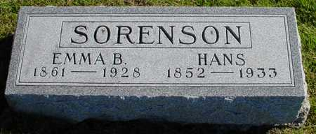 SORENSON, EMMA B. - Polk County, Iowa   EMMA B. SORENSON