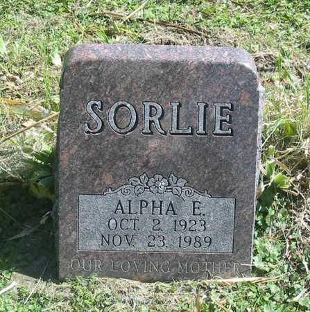 SORLIE, ALPHA E. - Polk County, Iowa | ALPHA E. SORLIE
