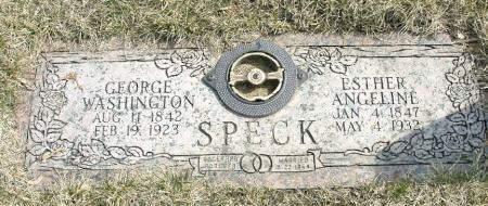 SPECK, ESTHER ANGELINE - Polk County, Iowa   ESTHER ANGELINE SPECK