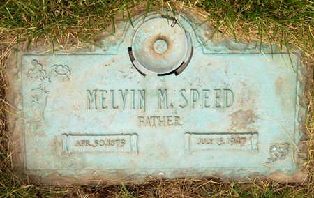 SPEED, MELVIN M. - Polk County, Iowa   MELVIN M. SPEED