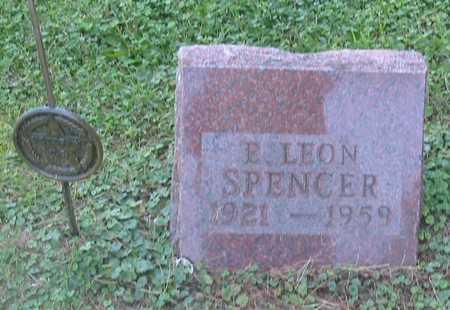 SPENCER, E. LEON - Polk County, Iowa   E. LEON SPENCER