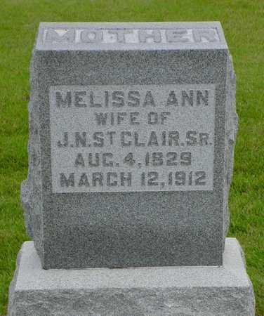 ST. CLAIR, MELISSA ANN - Polk County, Iowa   MELISSA ANN ST. CLAIR