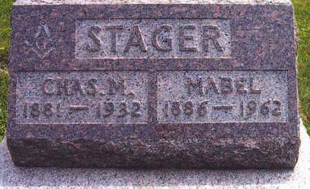 STAGER, MABEL - Polk County, Iowa | MABEL STAGER