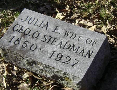 STEADMAN, JULIA E - Polk County, Iowa | JULIA E STEADMAN