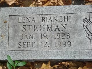STEGMAN, LENA - Polk County, Iowa   LENA STEGMAN