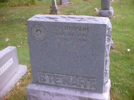 STEWART, FRED B. - Polk County, Iowa   FRED B. STEWART