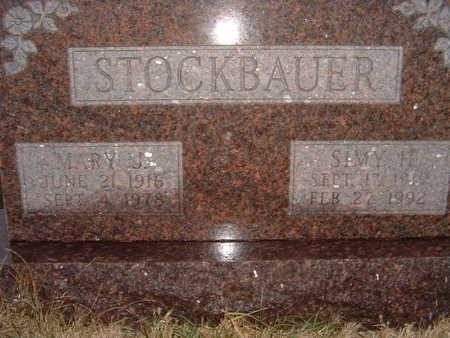 STOCKBAUER, SIMY H. - Polk County, Iowa | SIMY H. STOCKBAUER