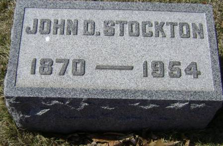 STOCKTON, JOHN - Polk County, Iowa   JOHN STOCKTON