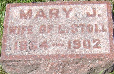 STOLL, MARY J - Polk County, Iowa | MARY J STOLL