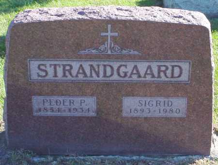 STRANDGAARD, SIGRID - Polk County, Iowa   SIGRID STRANDGAARD