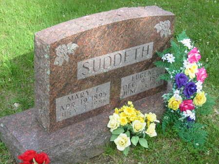 SUDDETH, MARY E. - Polk County, Iowa | MARY E. SUDDETH
