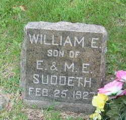 SUDDETH, WILLIAM E. - Polk County, Iowa   WILLIAM E. SUDDETH