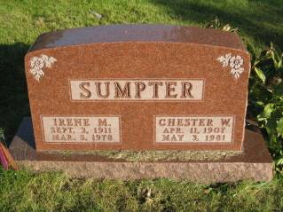 SUMPTER, CHESTER - Polk County, Iowa | CHESTER SUMPTER