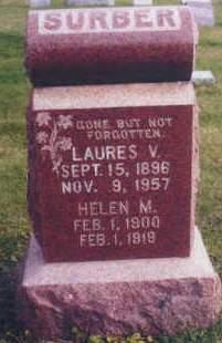 SURBER, HELEN M. - Polk County, Iowa | HELEN M. SURBER