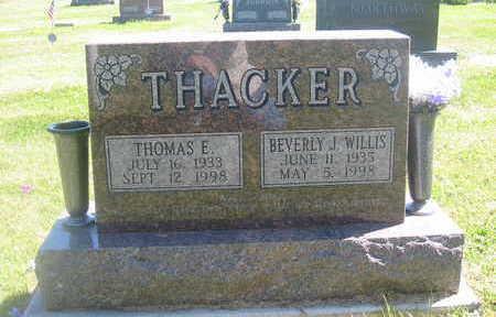 THACKER, BEVERLY J. - Polk County, Iowa | BEVERLY J. THACKER