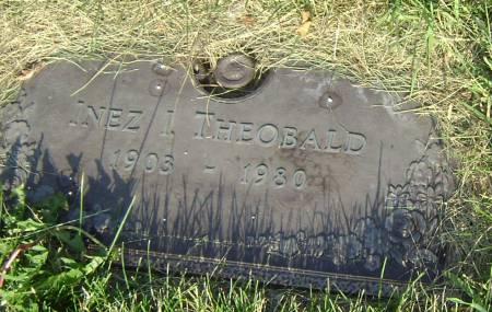 THEOBALD, INEZ I - Polk County, Iowa | INEZ I THEOBALD