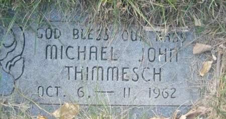 THIMMESCH, MICHAEL JOHN - Polk County, Iowa | MICHAEL JOHN THIMMESCH