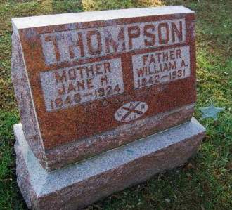 THOMPSON, WILLIAM A. - Polk County, Iowa | WILLIAM A. THOMPSON