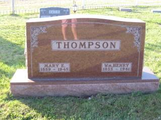 THOMPSON, WM. HENRY - Polk County, Iowa | WM. HENRY THOMPSON
