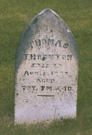 THORNTON, THOMAS - Polk County, Iowa | THOMAS THORNTON