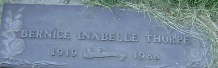 THORPE, BERNICE INABELLE - Polk County, Iowa | BERNICE INABELLE THORPE
