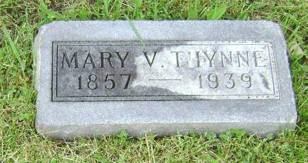 THYNNE, MARY V - Polk County, Iowa | MARY V THYNNE