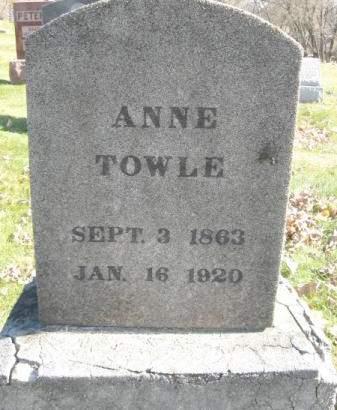 TOWLE, ANNE - Polk County, Iowa | ANNE TOWLE