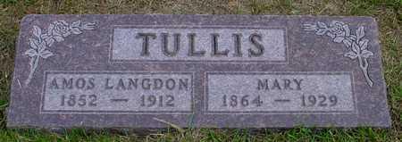 TULLIS, MARY - Polk County, Iowa   MARY TULLIS