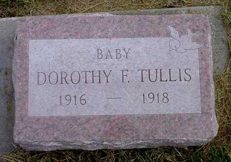TULLIS, DOROTHY F. - Polk County, Iowa | DOROTHY F. TULLIS