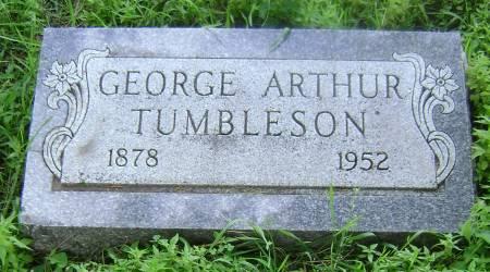 TUMBLESON, GEORGE ARTHUR - Polk County, Iowa | GEORGE ARTHUR TUMBLESON