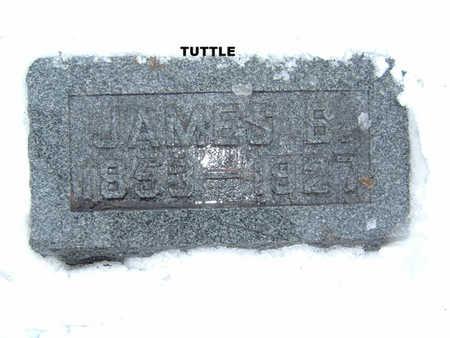 TUTTLE, JAMES B. - Polk County, Iowa   JAMES B. TUTTLE
