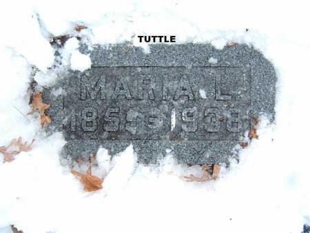 TUTTLE, MARIA L. - Polk County, Iowa | MARIA L. TUTTLE