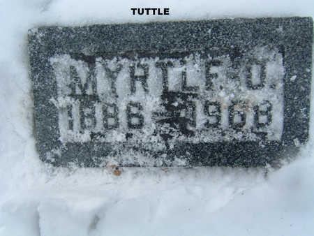 TUTTLE, MYRTLE O. - Polk County, Iowa | MYRTLE O. TUTTLE