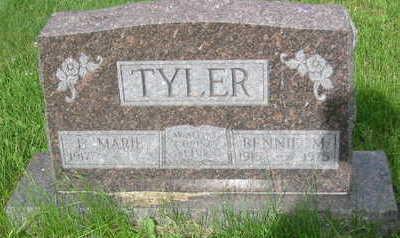 TYLER, BENNIE M. - Polk County, Iowa | BENNIE M. TYLER